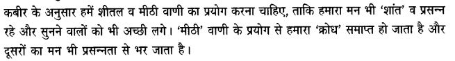 Chapter Wise Important Questions CBSE Class 10 Hindi B -साखी 15
