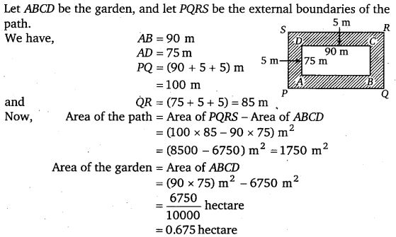 NCERT Solutions for Class 7 Maths Chapter 11 Perimeter and Area 45