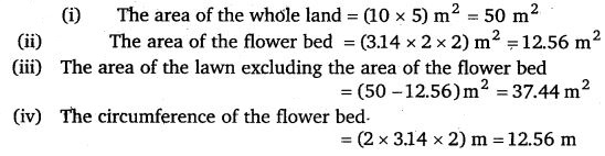 NCERT Solutions for Class 7 Maths Chapter 11 Perimeter and Area 57