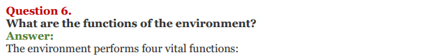 NCERT Solutions for Class 11 Chapter 9 Environment Sustainable Development 3