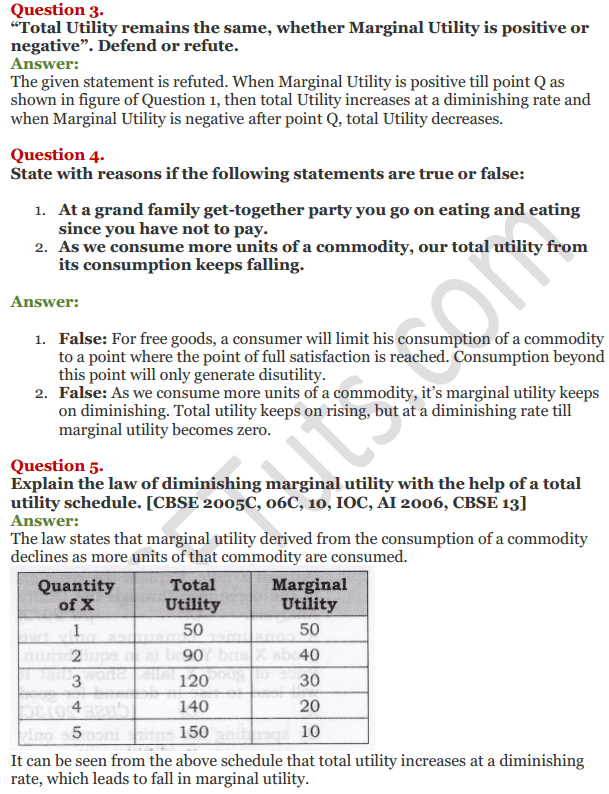 NCERT Solutions for Class 12 Micro Economics Chapter 2 Consumer Equilibrium 19
