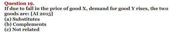 NCERT Solutions for Class 12 Micro Economics Chapter 3 Demand 15