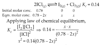 NCERT Solutions for Class 11 Chemistry Chapter 7 Equilibrium 16