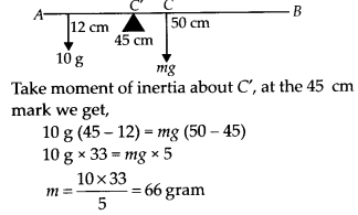 NCERT Solutions for Class 11 Physics Chapter 7 System of Particles and Rotational Motion 16