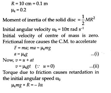 NCERT Solutions for Class 11 Physics Chapter 7 System of Particles and Rotational Motion 40