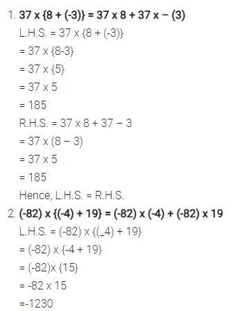 Selina Concise Mathematics Class 7 ICSE Solutions Chapter 1 Integers Ex 1A 3
