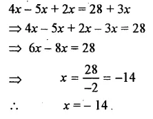 Selina Concise Mathematics Class 7 ICSE Solutions Chapter 12 Simple Linear Equations Ex 12B 39