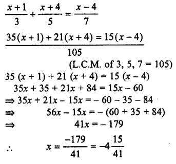 Selina Concise Mathematics Class 7 ICSE Solutions Chapter 12 Simple Linear Equations Ex 12C 75