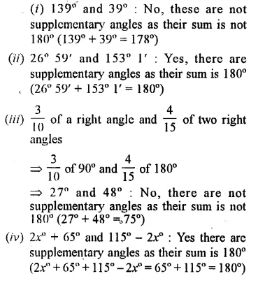 Selina Concise Mathematics Class 7 ICSE Solutions Chapter 14 Lines and Angles Ex 14A 14