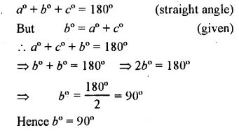 Selina Concise Mathematics Class 7 ICSE Solutions Chapter 14 Lines and Angles Ex 14A 8
