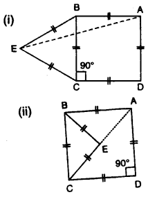 Selina Concise Mathematics Class 7 ICSE Solutions Chapter 15 Triangles Ex 15B Q13