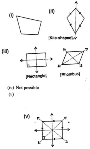 Selina Concise Mathematics Class 7 ICSE Solutions Chapter 17 Symmetry Ex 17A 6