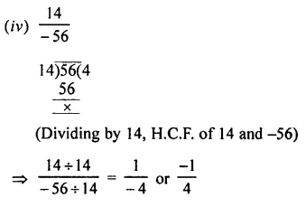 Selina Concise Mathematics Class 7 ICSE Solutions Chapter 2 Rational Numbers Ex 2A 24