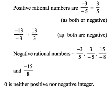 Selina Concise Mathematics Class 7 ICSE Solutions Chapter 2 Rational Numbers Ex 2A 5