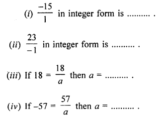 Selina Concise Mathematics Class 7 ICSE Solutions Chapter 2 Rational Numbers Ex 2A Q5