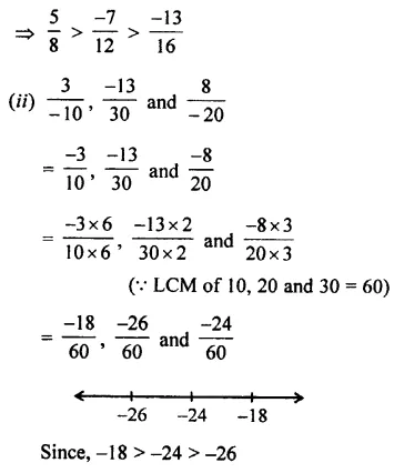 Selina Concise Mathematics Class 7 ICSE Solutions Chapter 2 Rational Numbers Ex 2B 41