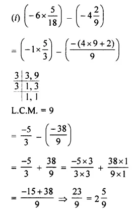 Selina Concise Mathematics Class 7 ICSE Solutions Chapter 2 Rational Numbers Ex 2D 81