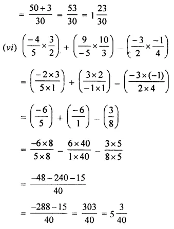 Selina Concise Mathematics Class 7 ICSE Solutions Chapter 2 Rational Numbers Ex 2D 84