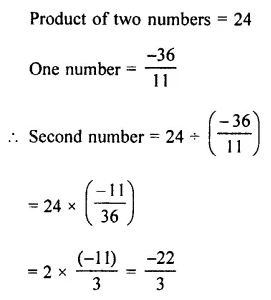 Selina Concise Mathematics Class 7 ICSE Solutions Chapter 2 Rational Numbers Ex 2E 117