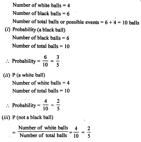 Selina Concise Mathematics Class 7 ICSE Solutions Chapter 22 Probability Ex 22A 8