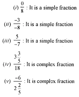Selina Concise Mathematics Class 7 ICSE Solutions Chapter 3 Fractions (Including Problems) Ex 3A 7