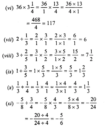 Selina Concise Mathematics Class 7 ICSE Solutions Chapter 3 Fractions (Including Problems) Ex 3C 35