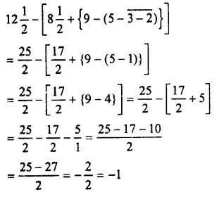 Selina Concise Mathematics Class 7 ICSE Solutions Chapter 3 Fractions (Including Problems) Ex 3D 100