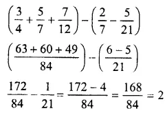 Selina Concise Mathematics Class 7 ICSE Solutions Chapter 3 Fractions (Including Problems) Ex 3E 71
