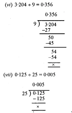 Selina Concise Mathematics Class 7 ICSE Solutions Chapter 4 Decimal Fractions (Decimals) Ex 4C 40