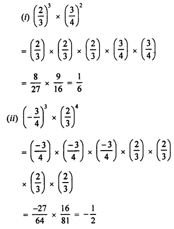 Selina Concise Mathematics Class 7 ICSE Solutions Chapter 5 Exponents (Including Laws of Exponents) Ex 5A 5