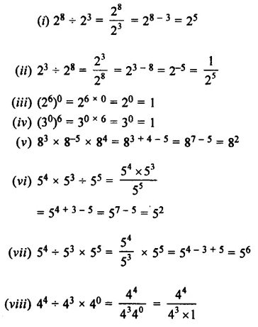 Selina Concise Mathematics Class 7 ICSE Solutions Chapter 5 Exponents (Including Laws of Exponents) Ex 5B 35