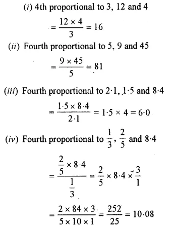 Selina Concise Mathematics Class 7 ICSE Solutions Chapter 6 Ratio and Proportion (Including Sharing in a Ratio) Ex 6B 28