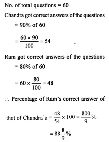 Selina Concise Mathematics Class 7 ICSE Solutions Chapter 7 Percent and Percentage Ex 8B 16