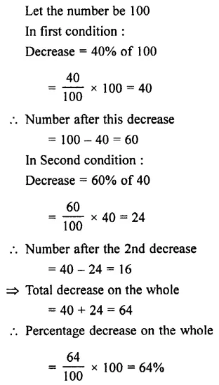 Selina Concise Mathematics Class 7 ICSE Solutions Chapter 7 Percent and Percentage Ex 8C 47