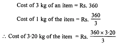 Selina Concise Mathematics Class 7 ICSE Solutions Chapter 7 Unitary Method (Including Time and Work) Ex 7A 13