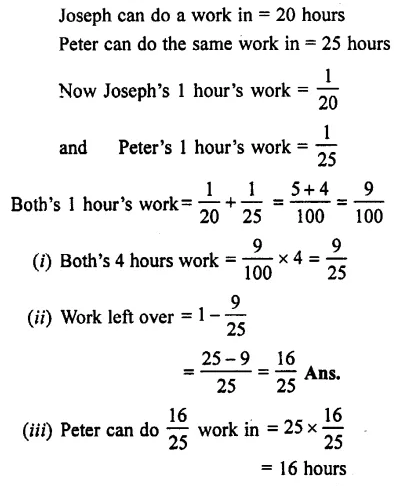 Selina Concise Mathematics Class 7 ICSE Solutions Chapter 7 Unitary Method (Including Time and Work) Ex 7C 37