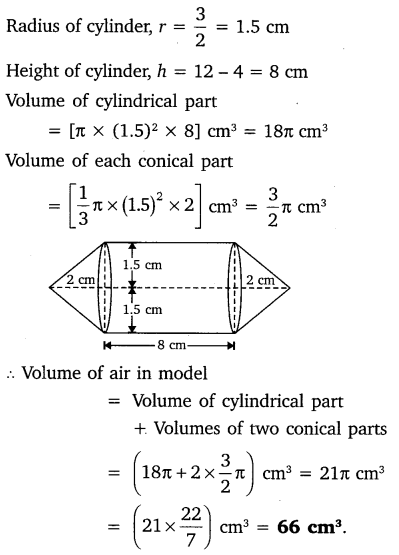 NCERT Solutions for Class 10 Maths Chapter 13 Surface Areas and Volumes 13