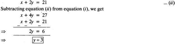 NCERT Solutions for Class 10 Maths Chapter 3 Pair of Linear Equations in Two Variables e4 15