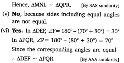 NCERT Solutions for Class 10 Maths Chapter 6 Triangles 24