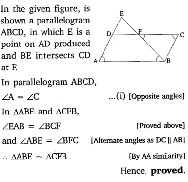 NCERT Solutions for Class 10 Maths Chapter 6 Triangles 37