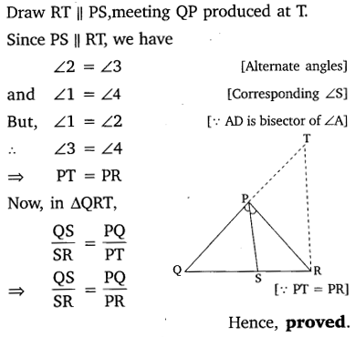 NCERT Solutions for Class 10 Maths Chapter 6 Triangles 91