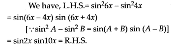 NCERT Solutions for Class 11 Maths Chapter 3 Trigonometric Functions Ex 3.3 12