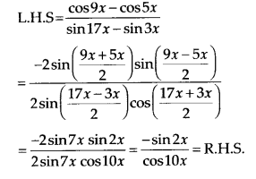 NCERT Solutions for Class 11 Maths Chapter 3 Trigonometric Functions Ex 3.3 16