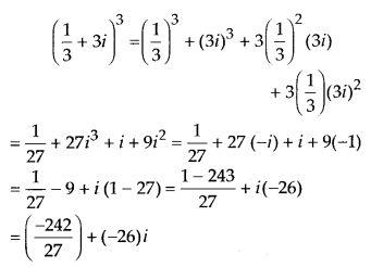 NCERT Solutions for Class 11 Maths Chapter 5 Complex Numbers and Quadratic Equations Ex 5.1 5