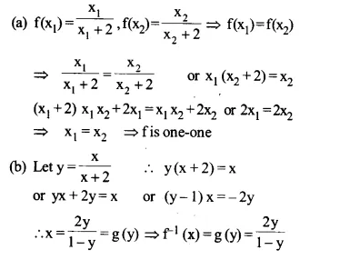 NCERT Solutions for Class 12 Maths Chapter 1 Relations and Functions Ex 1.3 Q6.1