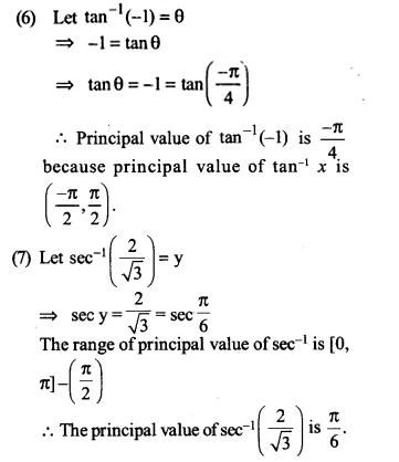 NCERT Solutions for Class 12 Maths Chapter 2 Inverse Trigonometric Functions Ex 2.1 Q1.3