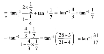 NCERT Solutions for Class 12 Maths Chapter 2 Inverse Trigonometric Functions Ex 2.2 Q4.1