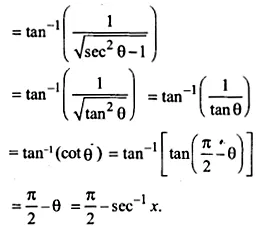 NCERT Solutions for Class 12 Maths Chapter 2 Inverse Trigonometric Functions Ex 2.2 Q6.1