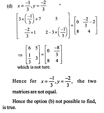 NCERT Solutions for Class 12 Maths Chapter 3 Matrices Ex 3.1 Q9.2