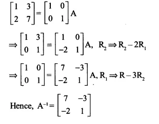 NCERT Solutions for Class 12 Maths Chapter 3 Matrices Ex 3.4 Q3.1